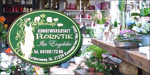 Ilse Engelcke Kunstwerkstatt Floristik in Rosengarten