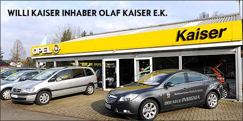 Opel Kaiser in Hörsten