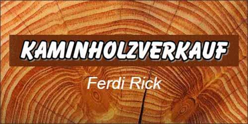 Ferdi Rick in der Elbmarsch