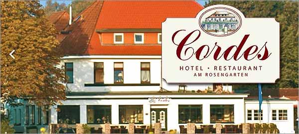Hotel Cordes in Rosengarten