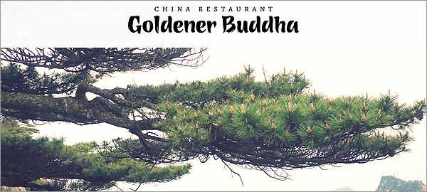 Goldener Buddha in Meckelfeld